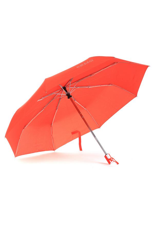 Зонт PezzoЗонты<br>Яркий зонт от бренда Pezzo выполнен из непромокаемого материала оранжевого цвета. Изделие дополнено: восемью спицами, застежкой-липучка и приятной на ощупь ручкой с кнопками. Механизм полуавтомат. Зонт декорирован символикой бренда серебристого цвета. В комплект входит чехол в цвет изделия.<br><br>Размер RU: один размер<br>Пол: Женский<br>Возраст: Взрослый<br>Материал: полиэстер 100%<br>Цвет: Оранжевый