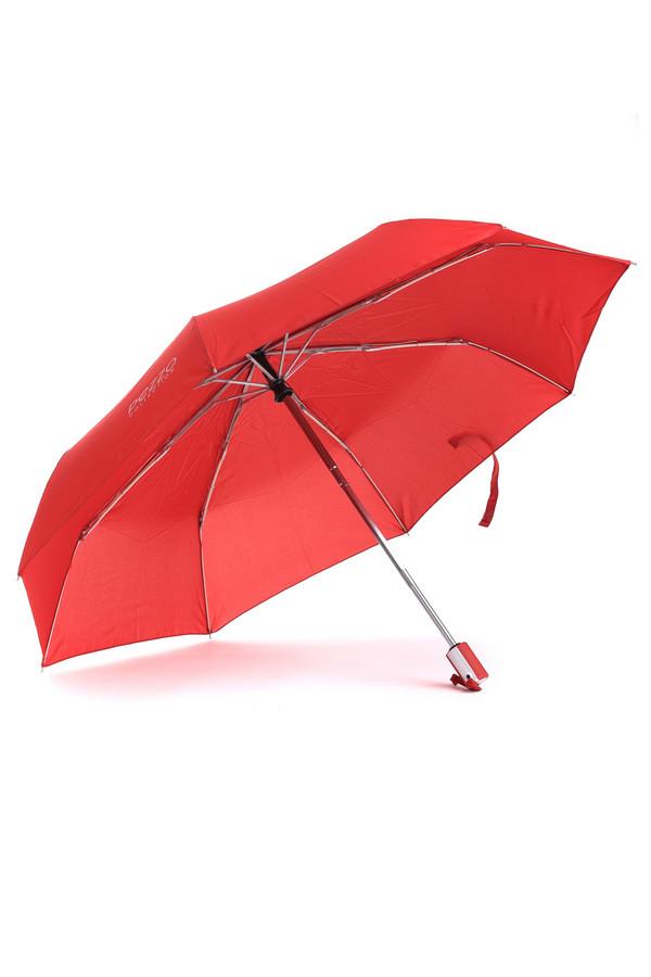 Зонт PezzoЗонты<br>Яркий зонт от бренда Pezzo выполнен из непромокаемого материала красного цвета. Изделие дополнено: восемью спицами, застежкой-липучка и приятной на ощупь ручкой с кнопками. Механизм полуавтомат. Зонт декорирован символикой бренда серебристого цвета. В комплект входит чехол в цвет изделия.<br><br>Размер RU: один размер<br>Пол: Женский<br>Возраст: Взрослый<br>Материал: полиэстер 100%<br>Цвет: Красный