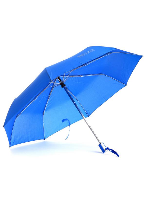 Зонт PezzoЗонты<br>Яркий зонт от бренда Pezzo выполнен из непромокаемого материала синего цвета. Изделие дополнено: восемью спицами, застежкой-липучка и приятной на ощупь ручкой с кнопками. Механизм полуавтомат. Зонт декорирован символикой бренда серебристого цвета. В комплект входит чехол в цвет изделия.<br><br>Размер RU: один размер<br>Пол: Женский<br>Возраст: Взрослый<br>Материал: полиэстер 100%<br>Цвет: Синий