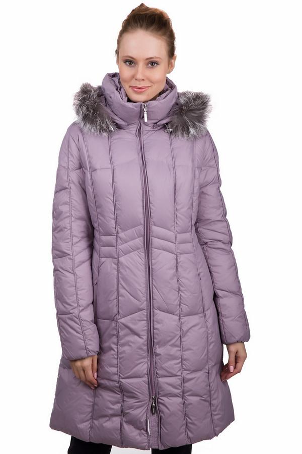 Пальто PezzoПальто<br>Стильное женское пальто Pezzo сиреневого цвета. Это изделие было выполнено из нейлона. Данная модель предназначена для холодной зимней погоды. Пальто длинное. Дополнено боковыми карманами и капюшоном с мехом. Застегивается с помощью молнии. Добавит любому повседневному образу яркости и нежности. Согреет в прохладную погоду и будет смотреться стильно.<br><br>Размер RU: 42<br>Пол: Женский<br>Возраст: Взрослый<br>Материал: нейлон 100%<br>Цвет: Сиреневый