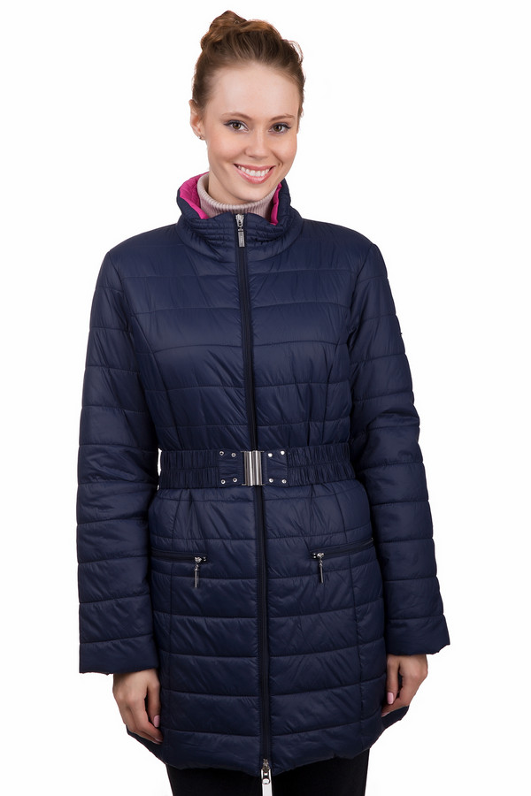 Пальто PezzoПальто<br>Практичное женское пальто Pezzo синего цвета. Это изделие было выполнено из нейлона. Данная модель предназначена для зимнего сезона. Пальто длинное и свободное. Дополнено поясом на талии и боковыми карманами. Сочетается с одеждой разных стилей и расцветок. Стильное решение на холодную погоду.<br><br>Размер RU: 42<br>Пол: Женский<br>Возраст: Взрослый<br>Материал: нейлон 100%<br>Цвет: Синий