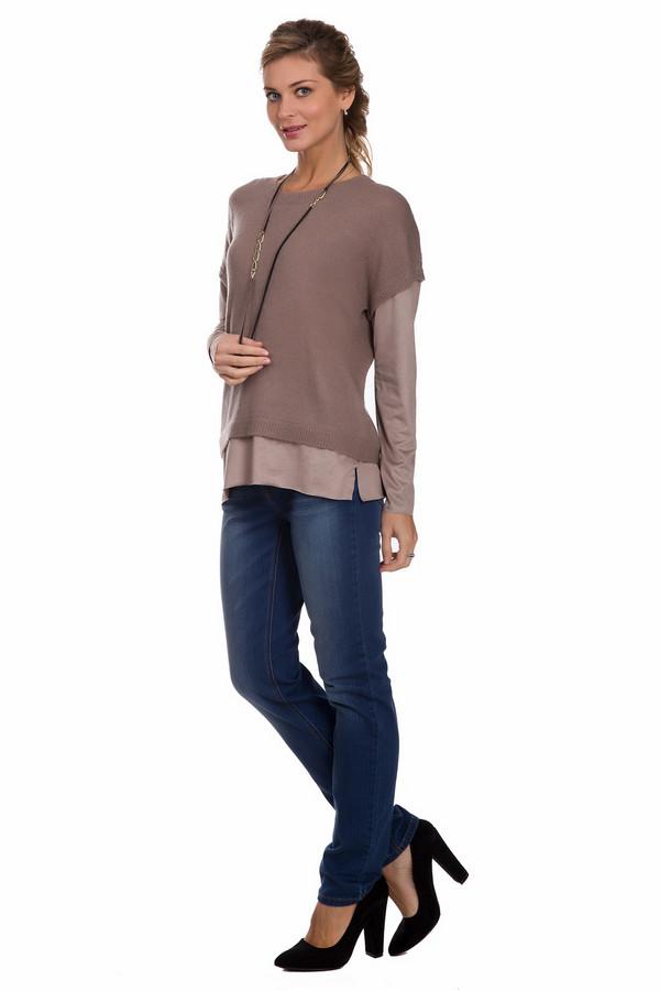 Джинсы PezzoДжинсы<br>Модные женские джинсы от бренда Pezzo темного синего цвета. Данное изделие было изготовлено из эластана, хлопка и полиэстера. Эта модель предназначена для демисезонного периода. Штаны средней посадки. Сидят по фигуре. Подчеркивают линию бедер. Дополнены легкими горизонтальными потертостями сверху. Можно носить с одеждой разных расцветок.<br><br>Размер RU: 46<br>Пол: Женский<br>Возраст: Взрослый<br>Материал: хлопок 92%, эластан 1%, полиэстер 7%<br>Цвет: Синий