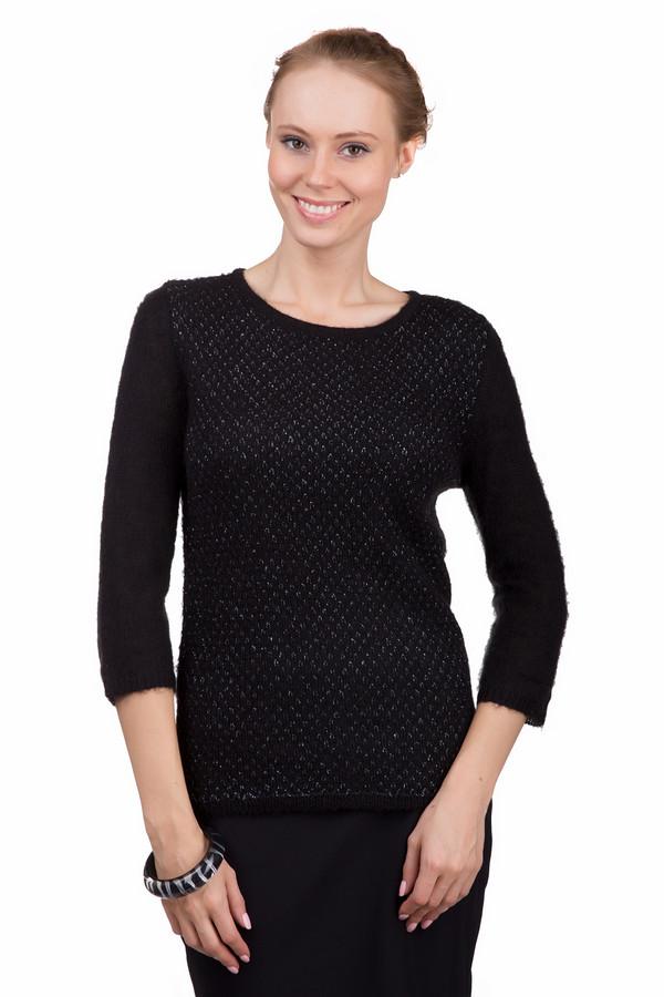 Пуловер Just ValeriПуловеры<br>Простой женский пуловер Just Valeri черного цвета с серебристыми деталями. Это изделие было изготовлено из акрила, нейлона и мохера. Данная модель предназначена для зимнего сезона. Пуловер свободного кроя и с укороченными рукавами. Дополнен блестящими мелкими вкраплениями. Хороший вариант для праздничной вечеринки.<br><br>Размер RU: 42<br>Пол: Женский<br>Возраст: Взрослый<br>Материал: акрил 30%, нейлон 40%, мохер 30%<br>Цвет: Разноцветный