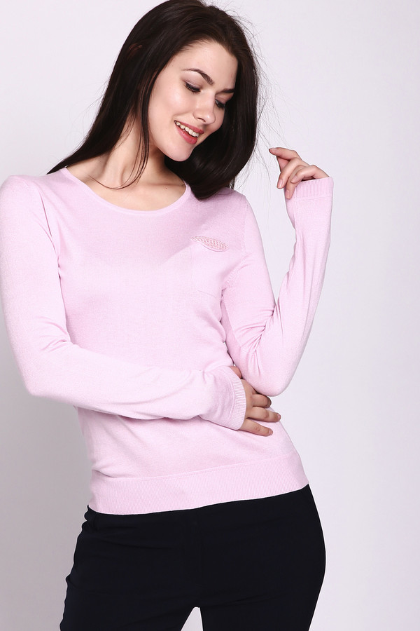 Купить Пуловер Pezzo, Китай, Розовый, вискоза 70%, нейлон 30%