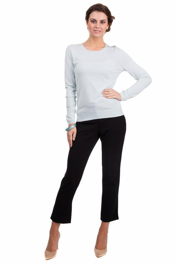 Пуловер PezzoПуловеры<br>Практичный женский пуловер Pezzo нежного голубого цвета. Это изделие было выполнено из вискозы и нейлона. Данная модель предназначена для демисезонного периода. Пуловер сидит по фигуре и с длинными рукавами. Дополнен карманом на груди с мелкими пайетками. Сочетается с одеждой разных тонов. Придаст образу свежести и женственности.<br><br>Размер RU: 48<br>Пол: Женский<br>Возраст: Взрослый<br>Материал: вискоза 70%, нейлон 30%<br>Цвет: Голубой