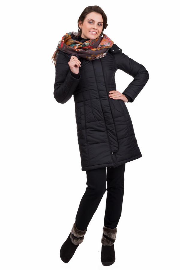 Пальто PezzoПальто<br>Практичное женское пальто Pezzo черного цвета. Это изделие было выполнено из нейлона. Данная модель предназначена для холодной зимней погоды. Пальто длинное и свободное. Дополнено капюшоном и боковыми карманами. Застегивается с помощью молнии и металлических кнопок. Такая вещь является базовой. Ее можно сочетать с чем угодно.<br><br>Размер RU: 44<br>Пол: Женский<br>Возраст: Взрослый<br>Материал: нейлон 100%<br>Цвет: Чёрный
