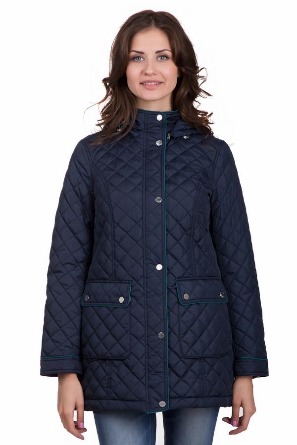 Куртка PezzoКуртки<br>Стильная женская куртка от бренда Pezzo темного синего цвета. Данное изделие было изготовлено из полиэстера. Эта модель является демисезонной. Куртка прикрывает бедра. Дополнена удобными карманами, капюшоном и строчками. Есть небольшой ремешок сзади. Оптимальный вариант для прохладной погоды. Благодаря цвету не сложно будет подбирать теплые аксессуары.<br><br>Размер RU: 44<br>Пол: Женский<br>Возраст: Взрослый<br>Материал: полиэстер 100%<br>Цвет: Синий