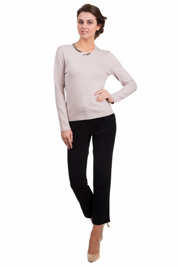 Пуловер PezzoПуловеры<br>Оригинальный женский пуловер Pezzo бежевого цвета. Эта модель выполнена из вискозы и нейлона. Данное изделие предназначено для демисезонного периода. Изделие дополнено круглым вырезом и длинными рукавами. Ворот украшен элементом выполненным из пайеток.<br><br>Размер RU: 50<br>Пол: Женский<br>Возраст: Взрослый<br>Материал: вискоза 80%, нейлон 20%<br>Цвет: Серебристый
