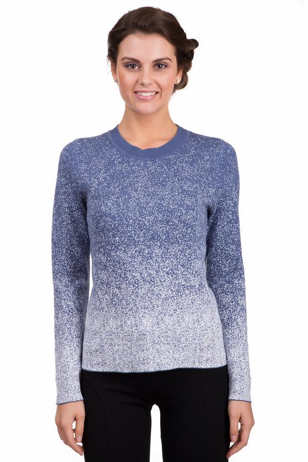 Пуловер PezzoПуловеры<br>Яркий женский пуловер Pezzo синего цвета с белыми деталями. Это изделие было изготовлено из натурального хлопка. Данная модель предназначена для холодной зимней погоды. Пуловер свободного кроя и с длинными рукавами. Дополнен интересным градиентным рисунком. Сочетается с одеждой разных стилей и расцветок. Хорошо будет смотреться с теплыми белыми штанами.<br><br>Размер RU: 52<br>Пол: Женский<br>Возраст: Взрослый<br>Материал: хлопок 100%<br>Цвет: Белый