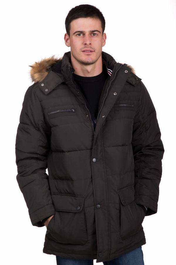 Куртка PezzoКуртки<br>Универсальная мужская куртка от бренда Pezzo коричневого цвета. Модель была сделана полностью из полиэстера. Изделие создано для зимнего сезона. Куртка прикрывает бедра. Дополнена стежками и удобными карманами на груди и по бокам. Сзади есть капюшон с мехом. Застегивается на молнию и кнопки. Такая вещь просто незаменима в холодную погоду.<br><br>Размер RU: 58<br>Пол: Мужской<br>Возраст: Взрослый<br>Материал: полиэстер 100%<br>Цвет: Коричневый