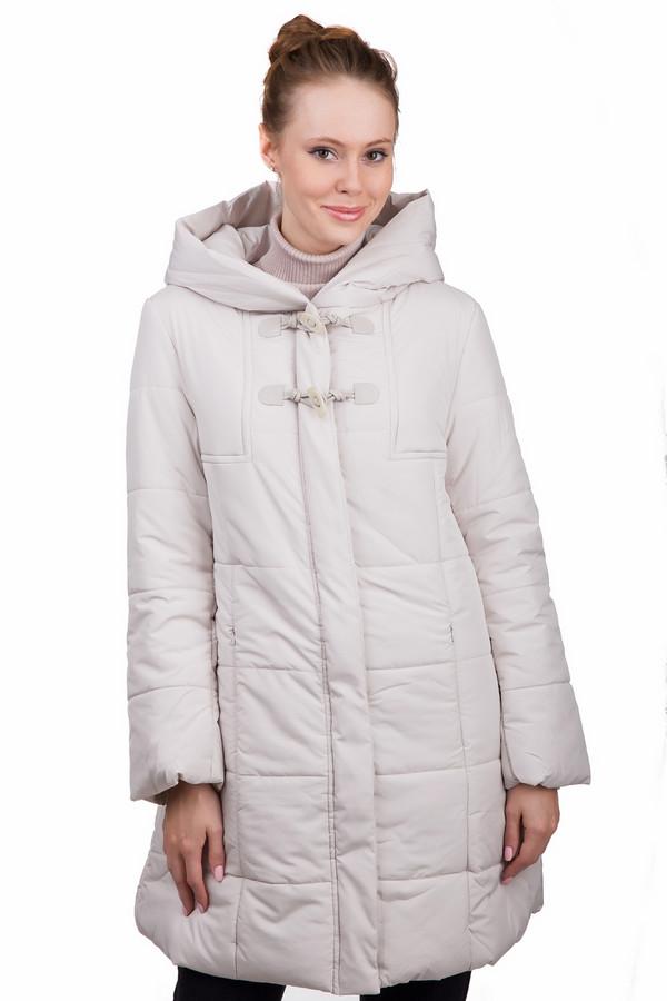 Пальто LocustПальто<br>Стильное женское пальто Locust бежевого цвета. Это изделие было выполнено из полиэстера. Данная модель предназначена для холодной зимней погоды. Пальто длинное и свободное. Дополнено боковыми карманами и капюшоном. Застегивается с помощью молнии и завязок. Сочетается с одеждой разных стилей и расцветок.<br><br>Размер RU: 44-46<br>Пол: Женский<br>Возраст: Взрослый<br>Материал: полиэстер 100%<br>Цвет: Бежевый