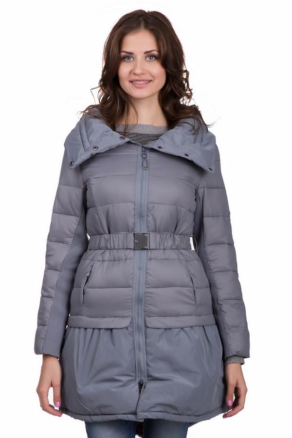 Пальто LocustПальто<br>Удобное женское пальто Locust темно синего цвета. Модель сделана полностью из нейлона. Такое изделие создано для зимней погоды. Прикрывает бедра. По длине немного выше колен. Дополнено разрезом сзади, двумя слоями и объемным воротом. Есть акцент на талии с помощью широкого ремешка. Смотрится стильно и молодежно.<br><br>Размер RU: 44-46<br>Пол: Женский<br>Возраст: Взрослый<br>Материал: нейлон 100%<br>Цвет: Серый