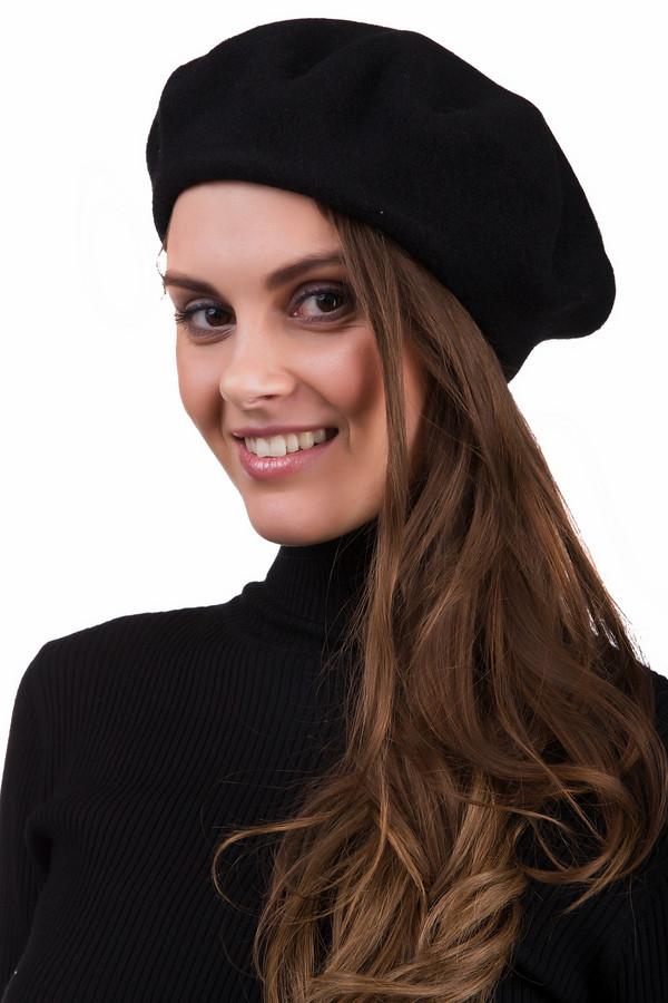Берет SeebergerБереты<br>Стильный женский берет Seeberger черного цвета. Это изделие было выполнено из шерсти. Данная модель предназначена для демисезонного периода. Головной убор можно сочетать с одеждой разных цветов и фактур. Лучше всего будет смотреться с классическими пальто. Такой аксессуар является стильным и практичным решением для первых холодов.<br><br>Размер RU: один размер<br>Пол: Женский<br>Возраст: Взрослый<br>Материал: шерсть 100%<br>Цвет: Чёрный