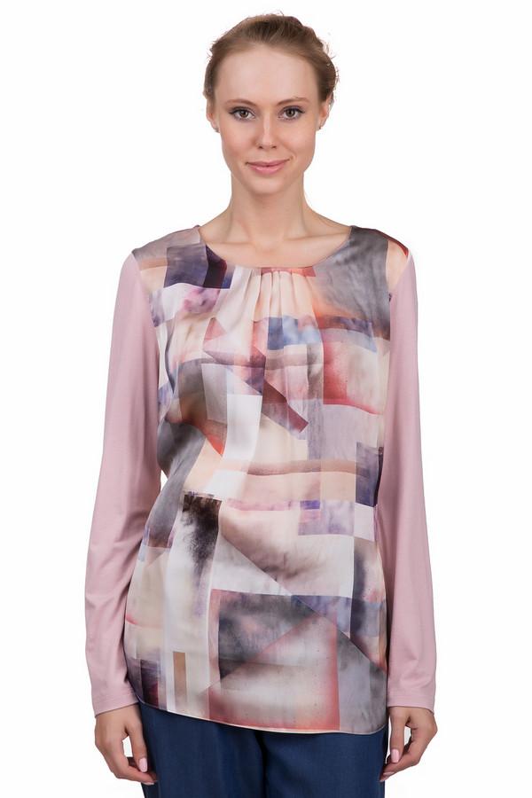 Блузa LebekБлузы<br>Яркая женская футболка Lebek розового цвета с бежевыми, коричневыми, голубыми, синими и фиолетовыми деталями. Это изделие было выполнено из эластана и вискозы. Данная модель предназначена для демисезонного периода. Футболка свободного кроя и с удлиненными рукавами. Дополнена ярким разноцветным рисунком и складками на вороте. Можно носить как с брюками, так и с юбками.<br><br>Размер RU: 46<br>Пол: Женский<br>Возраст: Взрослый<br>Материал: эластан 4%, вискоза 96%<br>Цвет: Разноцветный