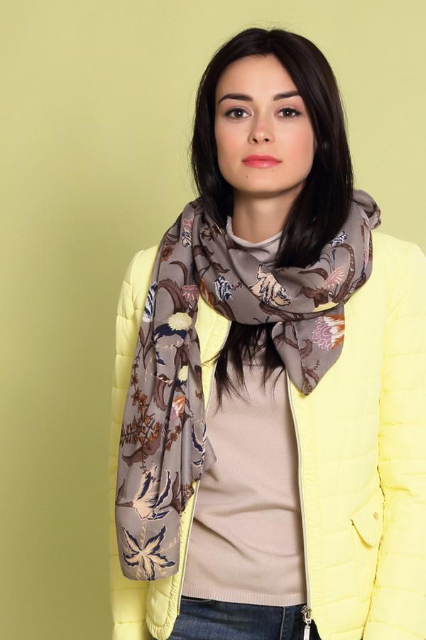 Шарф PassigattiШарфы<br>Оригинальный женский шарф Passigatti бежевого цвета с белыми, оранжевыми, жёлтыми, коричневыми и синими деталями. Это изделие было выполнено из полиэстера. Данная модель предназначена для демисезонного периода. Аксессуар дополнен ярким разноцветным цветочным рисунком. Отличный вариант на каждый день.<br><br>Размер RU: один размер<br>Пол: Женский<br>Возраст: Взрослый<br>Материал: полиэстер 100%<br>Цвет: Разноцветный