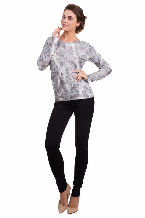 Пуловер GwyneddsПуловеры<br>Практичный женский пуловер Gwynedds серого, белого и коричневого цветов. Это изделие было изготовлено из эластана, вискозы и полиэстера. Данная модель предназначена для демисезонного периода. Пуловер свободного кроя. Дополнен изображением коал и резинками на вороте и рукавах. Хорошо сочетается с одеждой разных стилей и расцветок.<br><br>Размер RU: 42-44<br>Пол: Женский<br>Возраст: Взрослый<br>Материал: эластан 5%, вискоза 33%, полиэстер 62%<br>Цвет: Разноцветный
