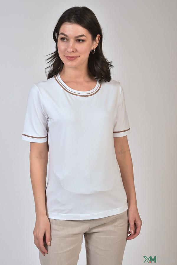 женская футболка d. exterior, белая
