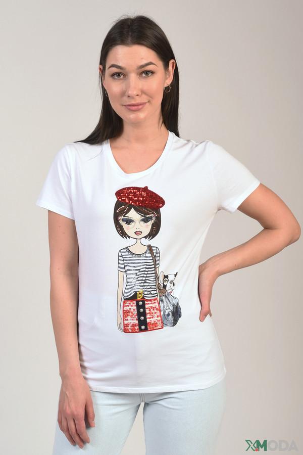 женская футболка liu jo jeans