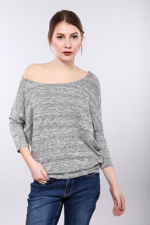 женский пуловер monari, серый