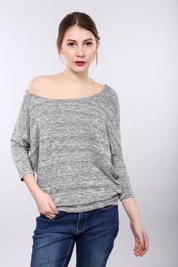 Пуловер Monari, цвет серый, размер 42RU