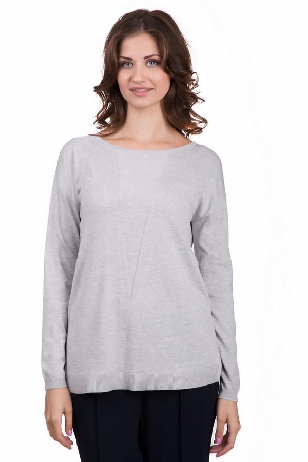 Пуловер Betty BarclayПуловеры<br>Оригинальный женский пуловер от бренда Betty Barclay серого цвета. Эта модель была сделана из хлопка, вискозы и полиамида. Такое изделие предназначено для осеннего и весеннего сезонов. Пуловер свободного кроя. Дополнен сзади молнией. Смотрится очень необычно и стильно. Под такую вещь желательно поддеть однотонный топ.<br><br>Размер RU: 40-42<br>Пол: Женский<br>Возраст: Взрослый<br>Материал: хлопок 30%, вискоза 30%, полиамид 40%<br>Цвет: Серый