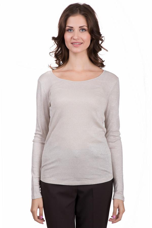 Пуловер Marc AurelПуловеры<br>Простой женский пуловер Marc Aurel золотистого цвета. Эта модель была сделана из хлопка и металла. Такое изделие подойдет для осеннего и весеннего сезонов. Пуловер облегает фигуру. Задняя часть немного длиннее передней. Хорошо сочетается с классическими брюками. Такая вещь станет прекрасной базой для стильных образов.<br><br>Размер RU: 44<br>Пол: Женский<br>Возраст: Взрослый<br>Материал: хлопок 65%, металл 35%<br>Цвет: Золотистый