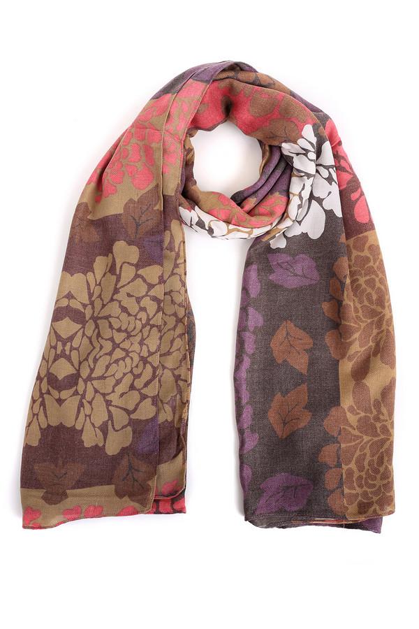 Шарф PassigattiШарфы<br>Оригинальный женский шарф Passigatti с пестрой расцветкой. Изделие полностью состоит из чистого полиэстера. Весна и осень наиболее соответствуют этой одежде. Шарф украшен флористическим узором цветов и листьев. Сочетает коричневый, белый, фиолетовый и коралловый цвета. Хорошо подойдет женщинам, любящим необычные аксессуары.<br><br>Размер RU: один размер<br>Пол: Женский<br>Возраст: Взрослый<br>Материал: полиэстер 100%<br>Цвет: Разноцветный