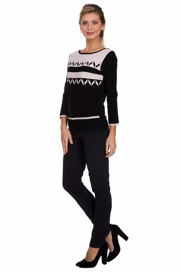 Брюки CambioБрюки<br>Оригинальные женские брюки Cambio черного цвета. Данное изделие состоит из эластана и полиамида. Такая модель предназначена для весны или осени. Брюки узкие. Дополнены кожаными вставками по бокам. Можно сочетать с верхом любого стиля и фасона. Смотрятся стильно и лаконично.<br><br>Размер RU: 40<br>Пол: Женский<br>Возраст: Взрослый<br>Материал: эластан 8%, полиамид 92%<br>Цвет: Чёрный