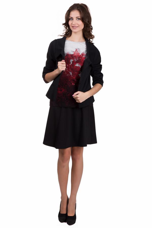 Юбка Sai-KuЮбки<br>Модная женская юбка Sai-Ku черного цвета. Это изделие было выполнено из полиэстера, эластана и вискозы. Данная модель предназначена для осени или весны. Юбка сделана в форме полу солнца. По длине немного выше колен. Хорошо будет смотреться с обувью на каблуке. Можно носить как на работу (в сочетании с пиджаком), так и на свидание (в сочетании с яркой блузой).<br><br>Размер RU: 48<br>Пол: Женский<br>Возраст: Взрослый<br>Материал: эластан 5%, вискоза 18%, полиэстер 77%<br>Цвет: Чёрный