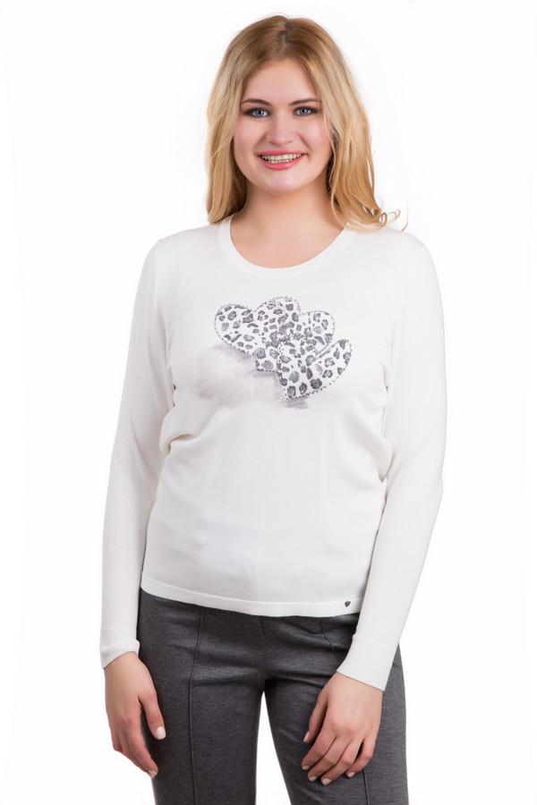 Пуловер LuciaПуловеры<br>Молодежный женский пуловер Lucia, сочетающий белый и серый цвет. Выполнен из полиамида и вискозы. Весной и осенью будет наиболее удобен в носке. Модель украшена двумя принтами: тремя сердцами спереди, серыми на белом фоне, и двумя сердцами сзади, белыми на сером фоне. Будет хорошо сочетаться с брюками, джинсами и юбками.<br><br>Размер RU: 50<br>Пол: Женский<br>Возраст: Взрослый<br>Материал: полиамид 20%, вискоза 80%<br>Цвет: Серый