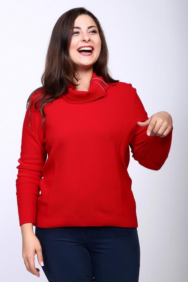 Пуловер LuciaПуловеры<br><br><br>Размер RU: 52<br>Пол: Женский<br>Возраст: Взрослый<br>Материал: полиамид 20%, полиакрил 38%, модал 42%<br>Цвет: Красный