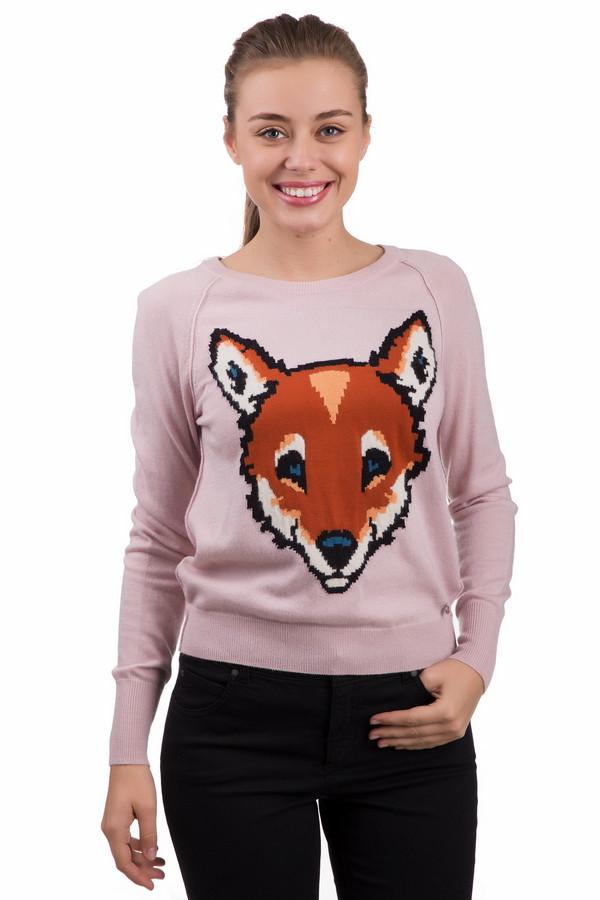 Пуловер SetПуловеры<br>Яркий женский пуловер Set розового цвета, с принтом в черных и оранжевых тонах. В состав изделия входят полиамид, полиэстер, шерсть, вискоза, ангора. Весной и осенью эта модель наиболее актуальна. Спереди уютный пуловер украшает яркий принт - голова лисы. Подойдет девушкам, который любят яркие акценты в одежде.<br><br>Размер RU: 48<br>Пол: Женский<br>Возраст: Взрослый<br>Материал: полиамид 20%, полиэстер 30%, шерсть 5%, вискоза 40%, ангора 5%<br>Цвет: Разноцветный