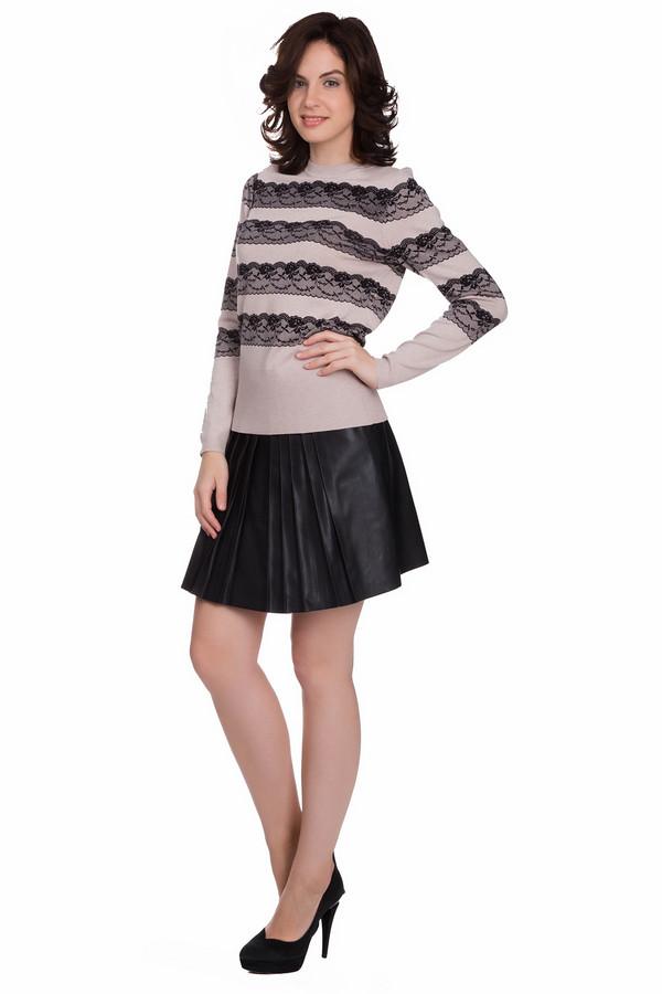 Юбка SetЮбки<br>Модная женская юбка Set черного цвета. Это изделие было изготовлено полностью из полиэстера. Модель предназначена для осени или весны. Юбка была выполнена в форме полу солнца. По длине выше колен. Дополнена плиссировкой. Подчеркивает красоту ног. Идеально сочетается с темной обувью. Стильный вариант для повседневного образа.<br><br>Размер RU: 44<br>Пол: Женский<br>Возраст: Взрослый<br>Материал: полиэстер 100%<br>Цвет: Чёрный