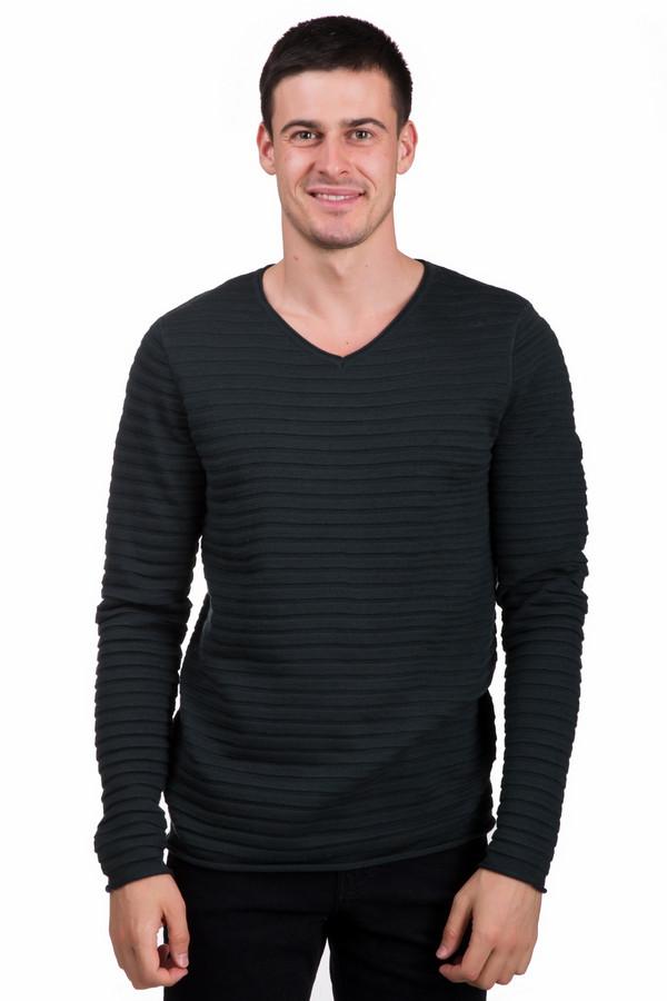 Джемпер PezzoДжемперы<br>Стильный мужской джемпер от бренда Pezzo зеленого цвета. Это изделие состоит из шерсти и акрила. Такая модель предназначена для осени или весны. Джемпер сидит по фигуре. Дополнен горизонтальными рельефными полосами и V-образным вырезом. Хорошее решение для повседневного образа. Отлично смотрится как с брюками, так и с джинсами.<br><br>Размер RU: 56<br>Пол: Мужской<br>Возраст: Взрослый<br>Материал: шерсть 50%, акрил 50%<br>Цвет: Зелёный