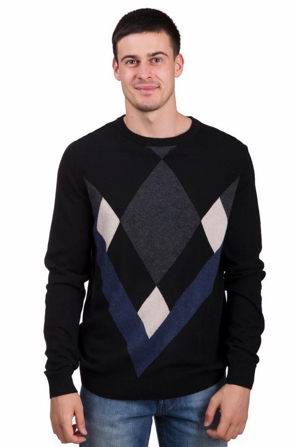 Джемпер PezzoДжемперы<br>Практичный мужской джемпер от бренда Pezzo черного цвета с серыми, бежевыми и синими деталями. Это изделие состоит из вискозы, полиамида, шерсти, кашемира, ангоры и хлопка. Такая модель предназначена для весны или осени. Джемпер свободного кроя. Дополнен разноцветным орнаментом и V-образным вырезом. Практичный вариант на каждый день.<br><br>Размер RU: 48<br>Пол: Мужской<br>Возраст: Взрослый<br>Материал: вискоза 33%, хлопок 18%, полиамид 23%, шерсть 18%, кашемир 4%, ангора 4%<br>Цвет: Разноцветный