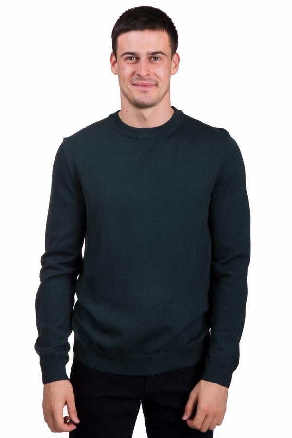 Джемпер PezzoДжемперы<br>Модный мужской джемпер от бренда Pezzo темно-зеленого цвета. Это изделие состоит полностью из шерсти. Такая модель предназначена для осени или весны. Джемпер свободного кроя. Дополнен резинками снизу, на рукавах и горловине. Хорошее решение на прохладную погоду. Подойдет тем, кому нравятся интересные цветовые решения.<br><br>Размер RU: 56<br>Пол: Мужской<br>Возраст: Взрослый<br>Материал: шерсть 100%<br>Цвет: Зелёный