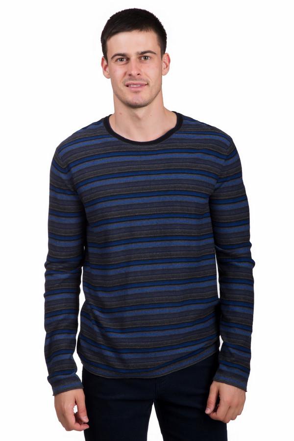 Джемпер PezzoДжемперы<br>Универсальный мужской джемпер от бренда Pezzo черного, серого и синего цветов. Данное изделие состоит из вискозы, полиамида и шерсти. Эта модель предназначена для осеннего и весеннего сезона. Джемпер свободного кроя. Дополнен мелкими горизонтальными полосами. Можно сочетать с одеждой разных стилей и расцветок. Добавит яркости в простой образ.<br><br>Размер RU: 52<br>Пол: Мужской<br>Возраст: Взрослый<br>Материал: полиамид 35%, вискоза 46%, шерсть 19%<br>Цвет: Разноцветный