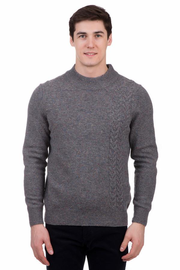 Джемпер PezzoДжемперы<br>Джемпер Pezzo серый. Шерстяной, но в то же время элегантный, он станет незаменимой вещью в мужском гардеробе во время зимы. Джемпер выполнен в классическом, повседневном стиле. Носить его очень удобно благодаря круглой горловине и приятному на ощупь материалу, а интересная вязка делает его менее строгим.<br><br>Размер RU: 54<br>Пол: Мужской<br>Возраст: Взрослый<br>Материал: полиамид 20%, шерсть мерино 80%<br>Цвет: Серый