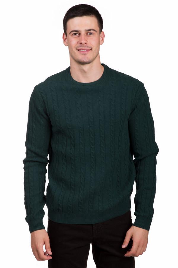 Джемпер PezzoДжемперы<br>Яркий мужской джемпер от бренда Pezzo зеленого цвета. Данное изделие состоит полностью из шерсти. Данная модель предназначена для холодной зимней погоды. Джемпер свободного кроя. Дополнен V-образным вырезом и мелкими вязаными косичками. Дополнит скучный повседневный образ. Отличный вариант для тех, кто любит разнообразие в цветовой гамме.<br><br>Размер RU: 50<br>Пол: Мужской<br>Возраст: Взрослый<br>Материал: шерсть 100%<br>Цвет: Зелёный