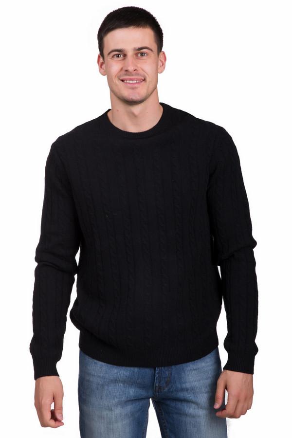 Джемпер PezzoДжемперы<br>Классический мужской джемпер от бренда Pezzo черного цвета. Это изделие было выполнено полностью из шерсти. Такая модель предназначена для весны или осени. Джемпер свободного кроя. Дополнен мелкой вязаной косичкой. Подойдет для любого повода и мероприятия. Практичное и стильное решение на каждый день.<br><br>Размер RU: 50<br>Пол: Мужской<br>Возраст: Взрослый<br>Материал: шерсть 100%<br>Цвет: Чёрный