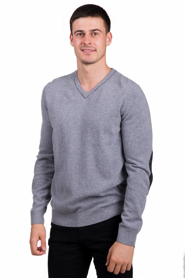 Джемпер PezzoДжемперы<br>Стильный мужской джемпер от бренда Pezzo серого цвета с серыми деталями. Данное изделие состоит из полиамида и шерсти мерино. Эта модель создана для весеннего и осеннего сезонов. Джемпер свободного кроя. Дополнен не глубоким, V-образным вырезом. Придаст простому повседневному образу легкости и оригинальности.<br><br>Размер RU: 46<br>Пол: Мужской<br>Возраст: Взрослый<br>Материал: полиамид 20%, шерсть мерино 80%<br>Цвет: Чёрный