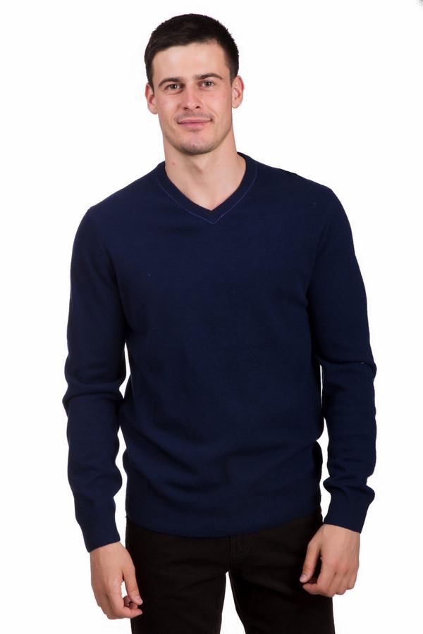 Джемпер PezzoДжемперы<br>Модный мужской джемпер от бренда Pezzo синего цвета с голубыми деталями. Данное изделие состоит из полиамида и шерсти мерино. Эта модель создана для весеннего и осеннего сезонов. Джемпер свободного кроя. Дополнен не глубоким V-образным вырезом и серыми заплатками на локтях. Добавит в простой повседневный образ красок.<br><br>Размер RU: 58<br>Пол: Мужской<br>Возраст: Взрослый<br>Материал: полиамид 20%, шерсть мерино 80%<br>Цвет: Голубой