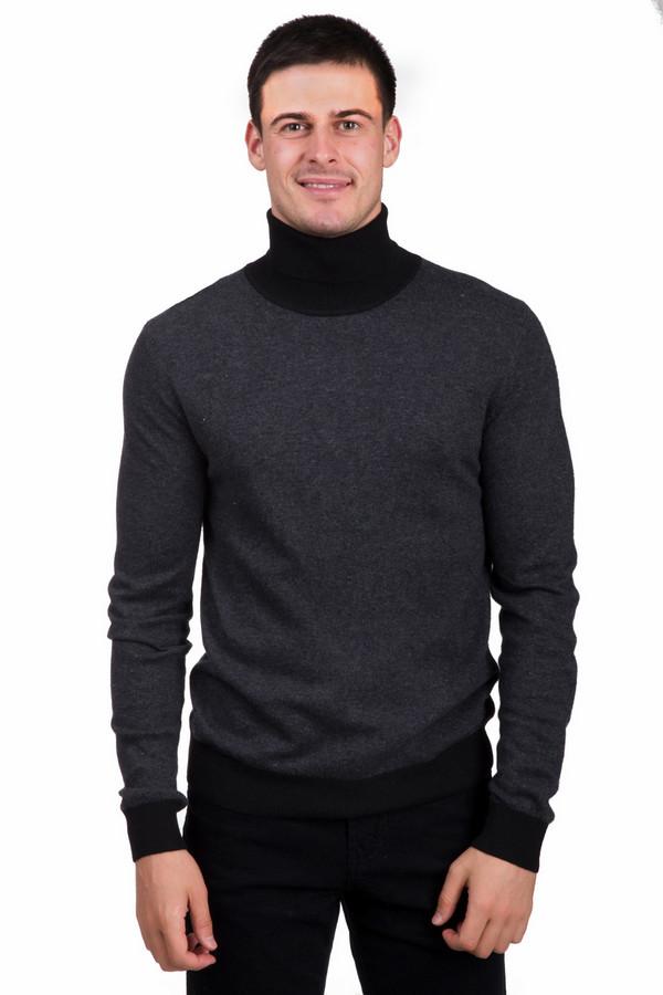 Джемпер PezzoДжемперы<br>Практичный мужской джемпер от бренда Pezzo серого цвета с черными деталями. Данное изделие состоит из вискозы, полиамида, кашемира, ангоры и шерсти. Данная модель предназначена для зимней погоды. Джемпер немного облегает фигуру. Дополнена серыми вставками на воротнике и на рукавах. Ворот надежно прикрывает шею. Универсальная вещь на каждый день.<br><br>Размер RU: 56<br>Пол: Мужской<br>Возраст: Взрослый<br>Материал: вискоза 33%, хлопок 18%, полиамид 23%, шерсть 18%, кашемир 4%, ангора 4%<br>Цвет: Чёрный