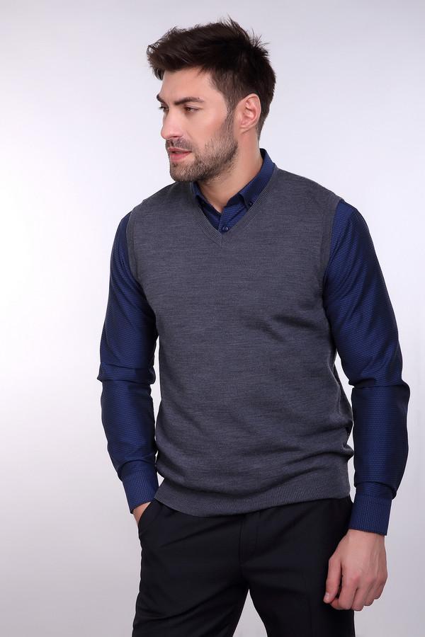 Жилет PezzoЖилеты<br>Простой мужской жилет от бренда Pezzo серого цвета. Это изделие состоит полностью из шерсти. Данная модель предназначена для осени или весны. Жилет слегка облегает фигуру. Идеально сочетается с однотонными или разноцветными рубашками и классическими брюками. Подойдет тем, кто любит простоту в одежде.<br><br>Размер RU: 46<br>Пол: Мужской<br>Возраст: Взрослый<br>Материал: шерсть 100%<br>Цвет: Серый