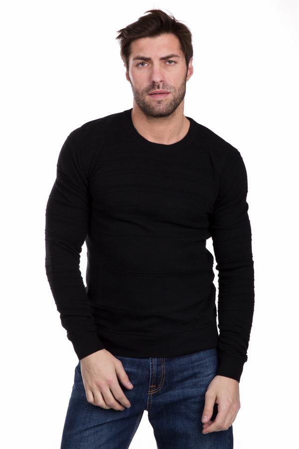 Джемпер PezzoДжемперы и Пуловеры<br>Практичный мужской джемпер Pezzo черного цвета. Изделие выполнено из вискозы, хлопка, полиамида, шерсти, кашемира и ангоры. Он более всего подходит для носки в весенний и осенний сезоны. Манжеты и край изделия выполнены особой широкой резинкой. Джемпер украшен декоративными горизонтальными швами. Хорошо дополнит любые джинсы или брюки.<br><br>Размер RU: 52<br>Пол: Мужской<br>Возраст: Взрослый<br>Материал: вискоза 33%, хлопок 18%, полиамид 23%, шерсть 18%, кашемир 4%, ангора 4%<br>Цвет: Чёрный