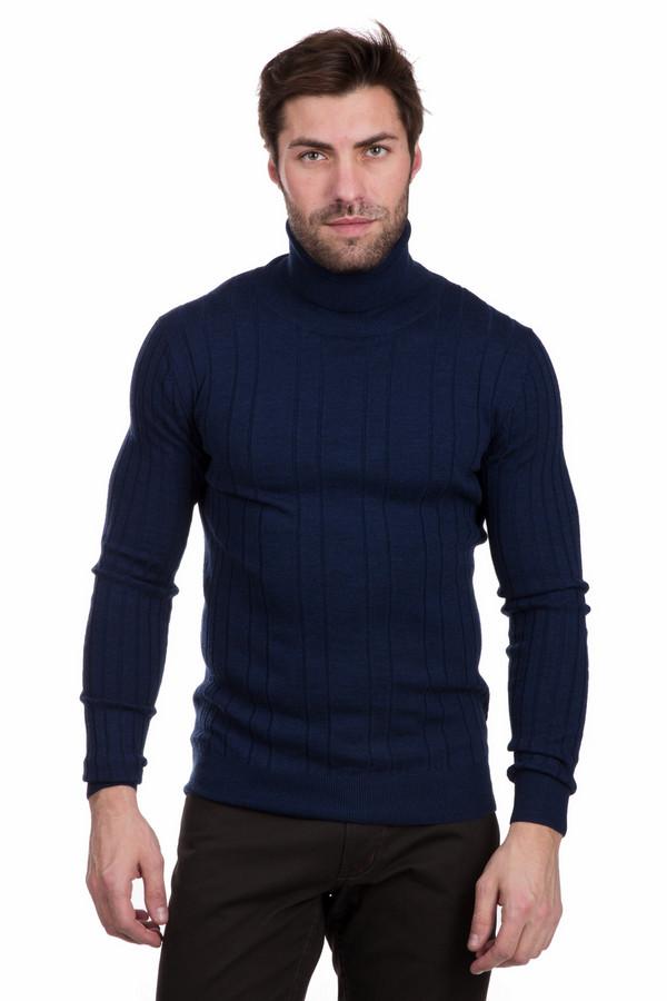 Водолазкa PezzoВодолазки<br>Привлекательная мужская водолазка Pezzo темно-синего цвета. Полностью изготовлена из 100% шерсти. Зимой эта модель будет наиболее уместной и удобной. Темно-синий цвет сочетается практически с любыми брюками или джинсами. Декорируют водолазку узкие вертикальные полосы, которые тянутся через все изделие.<br><br>Размер RU: 46<br>Пол: Мужской<br>Возраст: Взрослый<br>Материал: шерсть 100%<br>Цвет: Синий