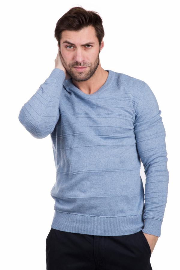 Джемпер PezzoДжемперы<br>Уютный мужской джемпер Pezzo голубого цвета. В состав изделия входят полиамид, шерсть, кашемир, ангора, вискоза, хлопок. В весенний или осенний сезон будет комфортным и удобным. Джемпер сидит по фигуре, изделие украшают многочисленные декоративные горизонтальные швы. Лучше всего сочетается с темными джинсами или классическими брюками.<br><br>Размер RU: 46<br>Пол: Мужской<br>Возраст: Взрослый<br>Материал: вискоза 33%, хлопок 18%, полиамид 23%, шерсть 18%, кашемир 4%, ангора 4%<br>Цвет: Голубой