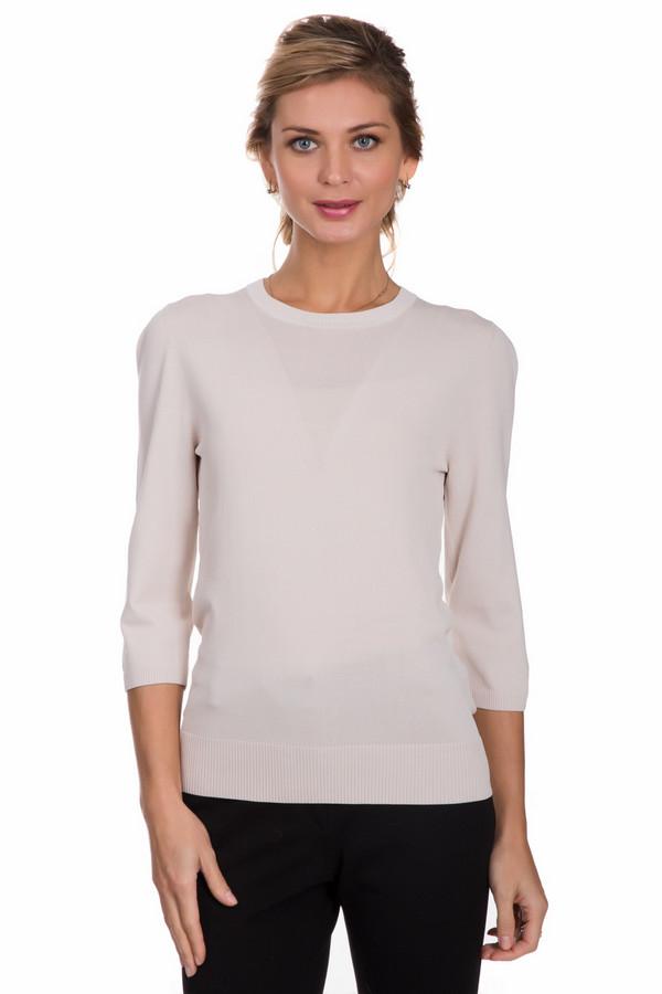 Пуловер PezzoПуловеры<br>Классический женский пуловер от бренда Pezzo белого цвета. Это изделие состоит из нейлона и вискозы. Такая модель предназначена для осени или весны. Пуловер немного облегает фигуру. Рукава три четверти. Эта вещь станет отличной базой для стильного и красивого образа. В сочетании с объемным и золотистым украшением на шею, подойдет для вечеринки.<br><br>Размер RU: 50<br>Пол: Женский<br>Возраст: Взрослый<br>Материал: вискоза 63%, нейлон 37%<br>Цвет: Белый