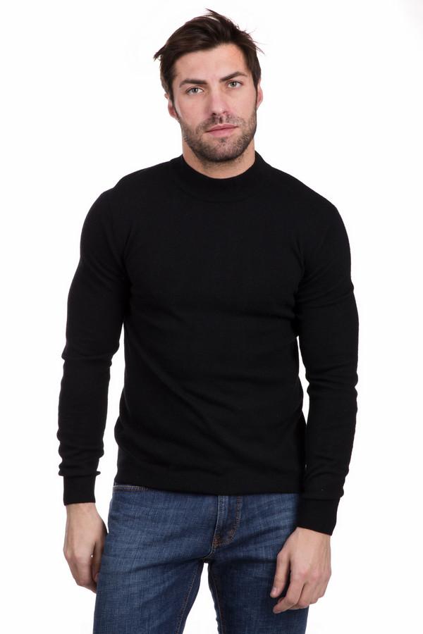 Джемпер PezzoДжемперы<br>Элегантный мужской джемпер Pezzo черного цвета. Изделие состоит из полиамида, шерсти, кашемира, ангоры, вискозы и хлопка. Такой джемпер будет самым лучшим выбором в демисезон. Низ модели и манжеты дополняет окантовывающая их резинка. Из этой же резинки выполнен воротник. Отлично сочетается с брюками или джинсами темных оттенков.<br><br>Размер RU: 46<br>Пол: Мужской<br>Возраст: Взрослый<br>Материал: вискоза 33%, хлопок 18%, полиамид 23%, шерсть 18%, кашемир 4%, ангора 4%<br>Цвет: Чёрный