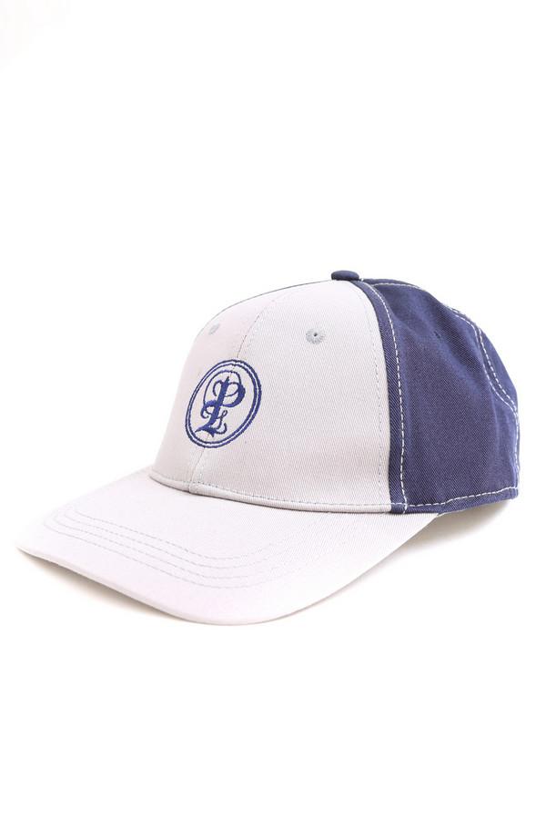 Кепка PezzoКепки<br>Спортивная мужская кепка Pezzo, сочетающая белый и синий цвета. Изготовлена полностью из хлопка. Наиболее комфортно в этом головном уборе будет в летний сезон. Кепка белая спереди и синяя сзади. Спереди ее украшает вышитая синяя круглая эмблема Pezzo. Такая кепка будет прекрасно спасать от палящего солнечного света.<br><br>Размер RU: один размер<br>Пол: Мужской<br>Возраст: Взрослый<br>Материал: хлопок 100%<br>Цвет: Синий